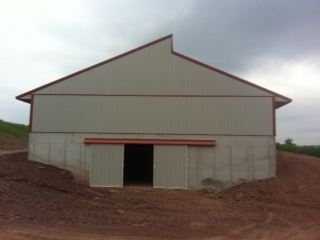 Poultry House Poured Walls