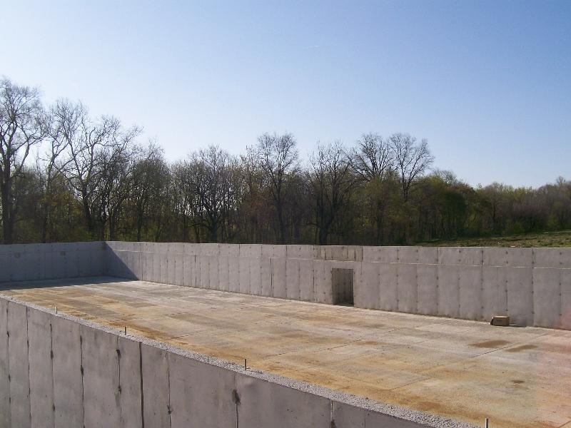 Concrete Floor & Poured Wall