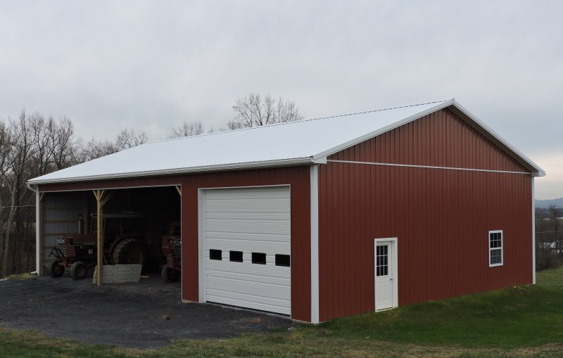 40' x 60' x 14' Post-Frame Equipment Shed