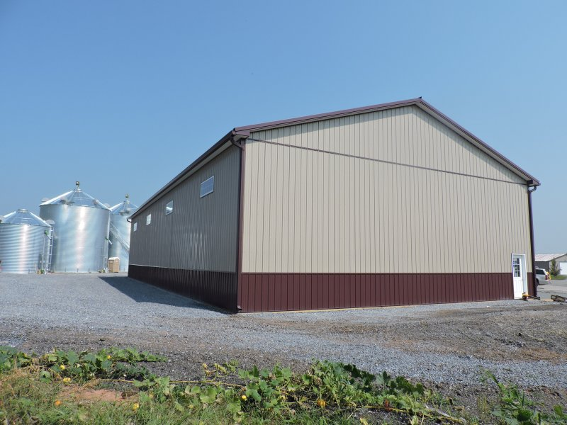 50' x 96' x 18' Post-Frame Equipment Shed