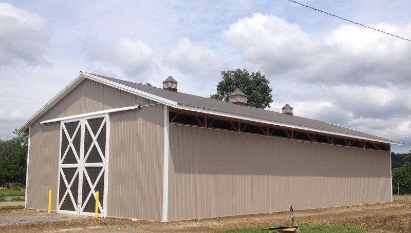 40' x 80' x 16' Post-Frame Pole Building
