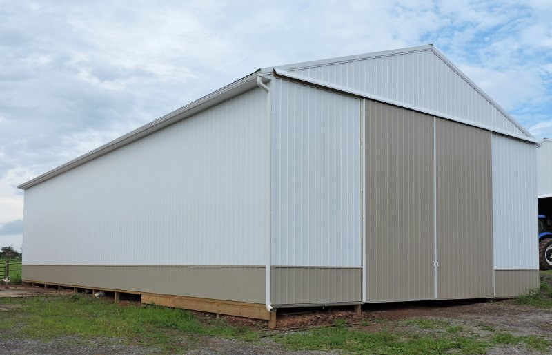 40' x 80' x 18' Post-Frame Equipment Shed