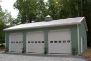 Pole barn photos for 40x40 garage kit
