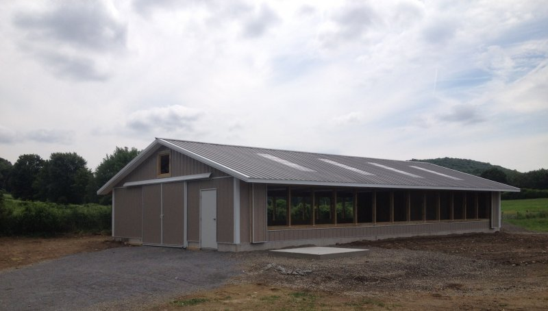 30' x 60' x 8' Poultry House