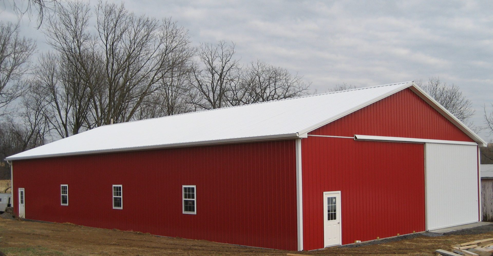 Equipment Shed In Ijamsville Md Sk Construction