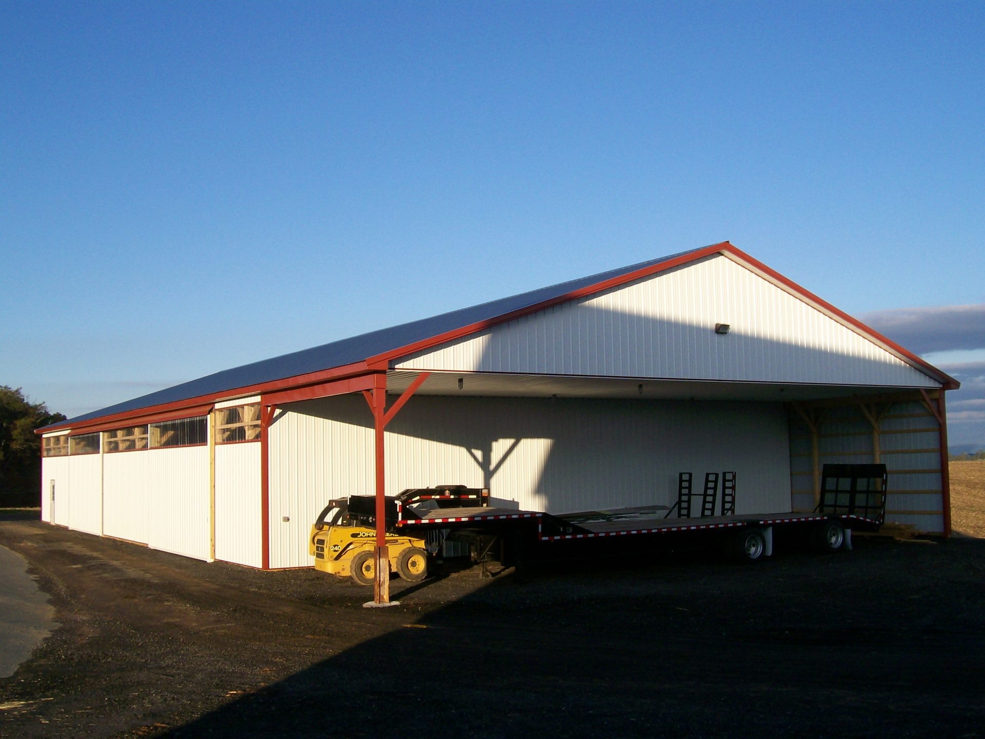 Custom Equipment Shed In Ijamsville Md Sk Construction