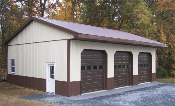 40x30 garage door ideas - Pole Barn s