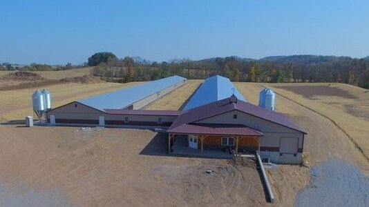 46' x 535' x 8' Cage-Free layer Houses - Womelsdorf, PA