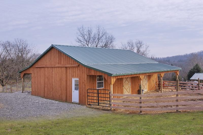 30' x 40' x 10' Pole Barn