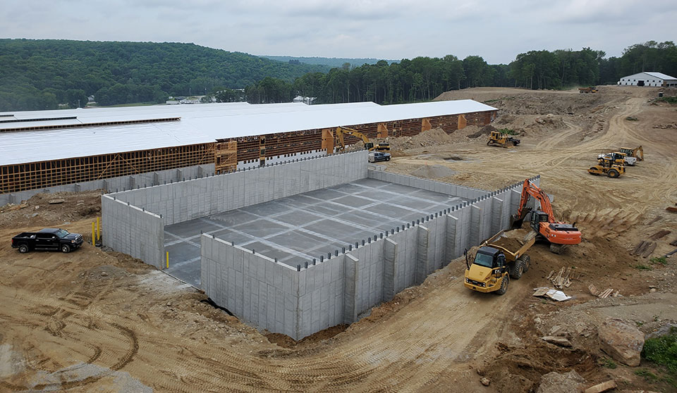 Concrete & Poured Walls in Hillendale Ct